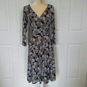 London Times faux wrap dress size 14